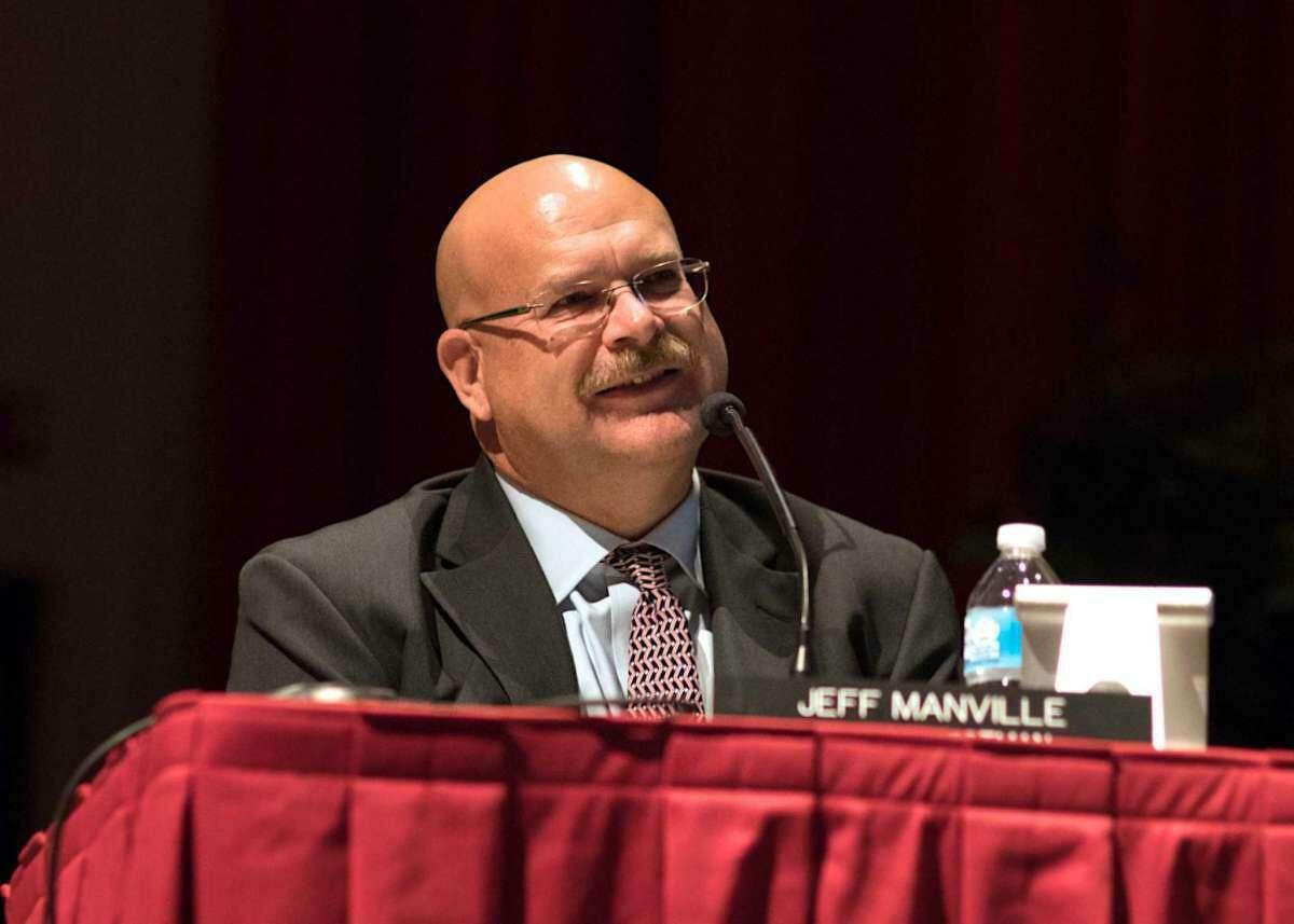 Southbury First Selectman Jeffrey Manville.