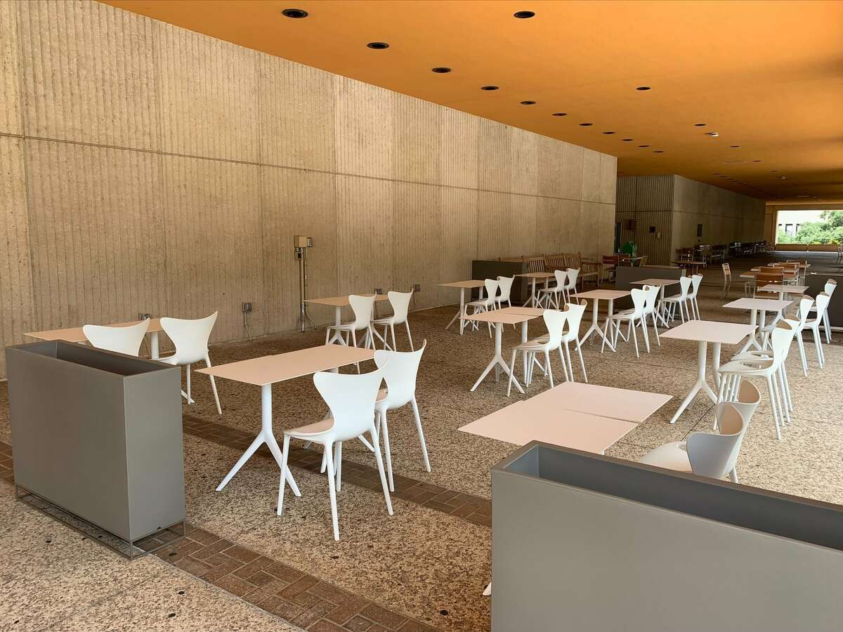 """On Monday, the University of Texas at San Antonio facilities department unveiled two new """"outdoor classrooms"""" at the Flawn Sciences Building. The university was quickly lambasted by students."""