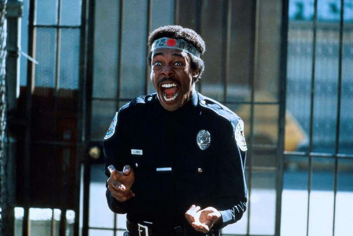 """Michael Winslow, who will perform Thursday at the Wildey Theatre, played the role of officer Larvell Jones in all seven """"Police Academy"""" movies."""