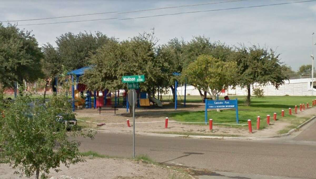 The 2200 block of Madison Street is pictured. Laredo police reported a man in his late 40s was found stabbed to death in that location on Tuesday.