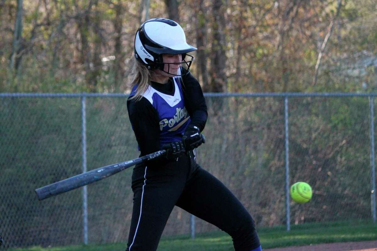 Ajah Finkfinished honorable mention all-conference at second base. (News Advocate file photo)