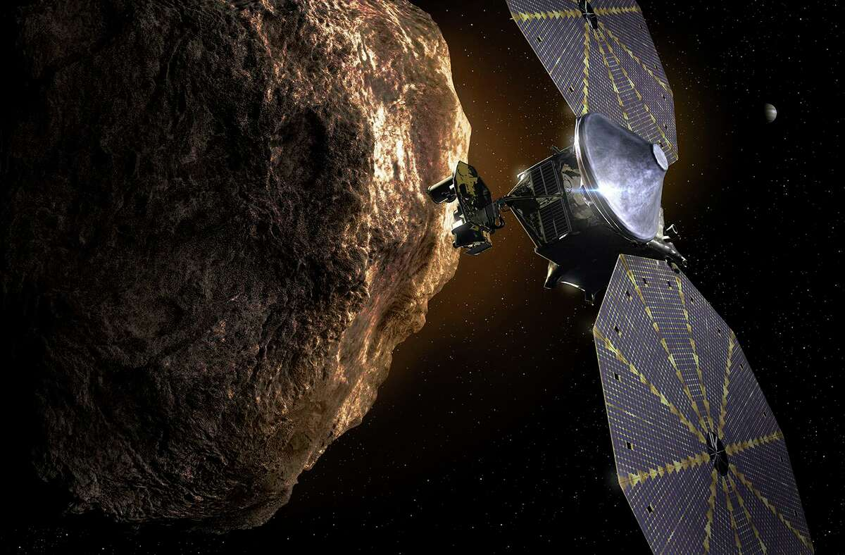 NASA's Lucy will study Trojan asteroids, which are in the same orbit around the sun as Jupiter.
