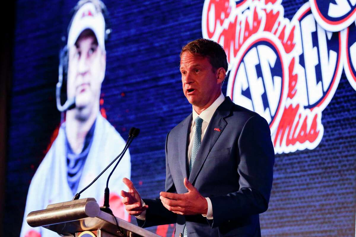 Always colorful, Mississippi coach Lane Kiffin lived up to his reputation when making his first SEC Media Days appearance as the Rebels' coach on Tuesday.