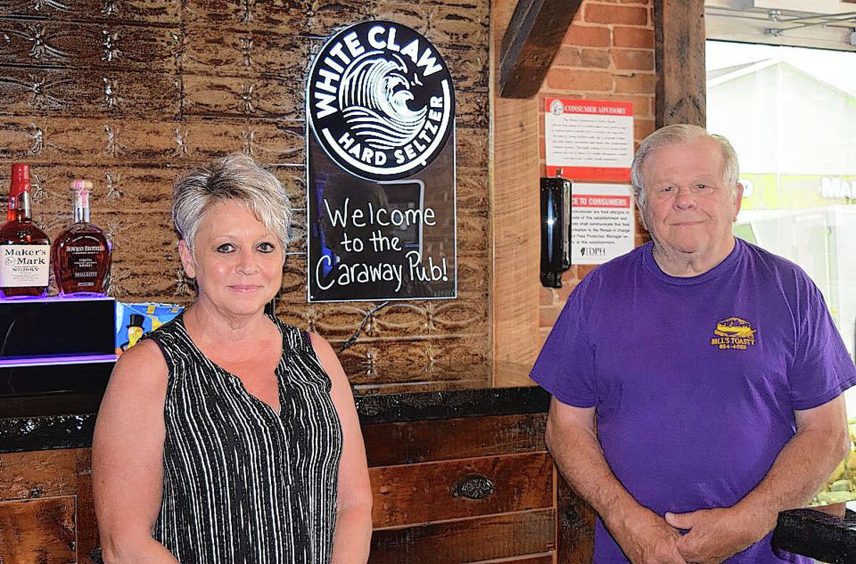 Kim and Jim Butler own Caraway Pub, which is set to open Monday at 107 S. Front St. in Virginia.