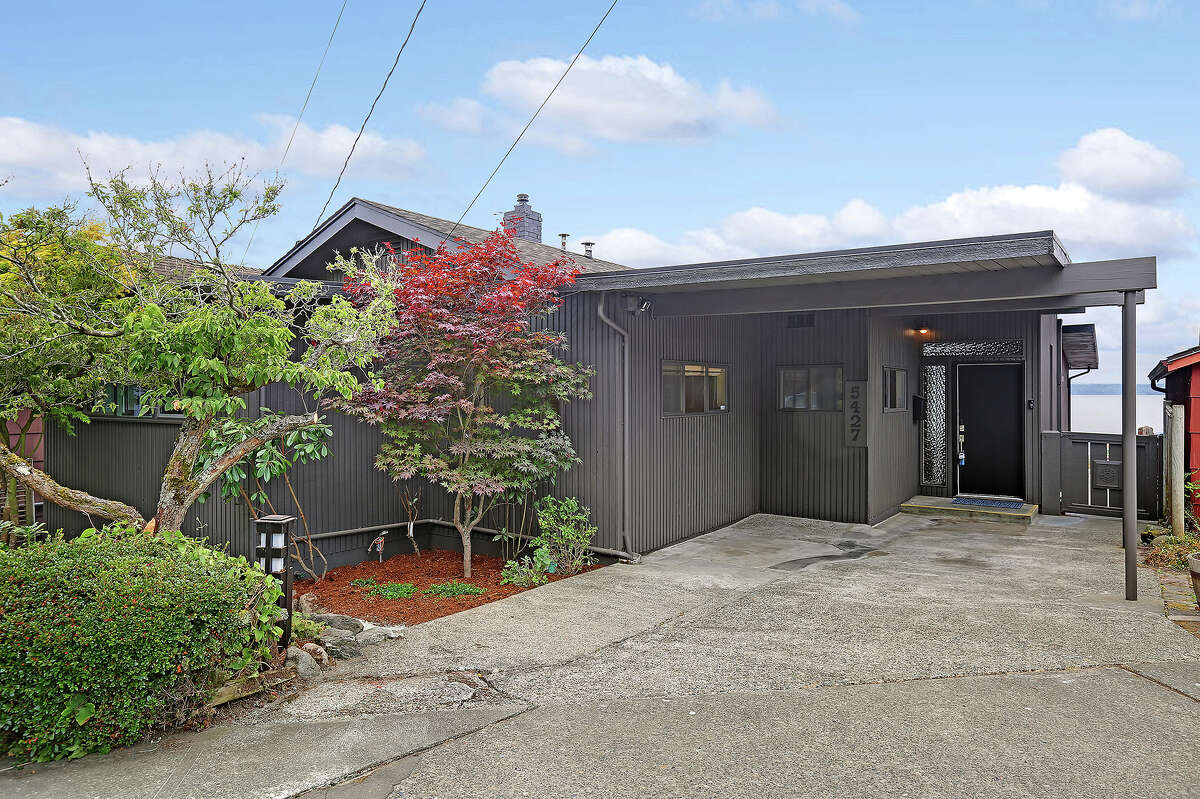 From the street, the home does not look as large as it actually is: 2,4oo square feet, three beds and two baths.