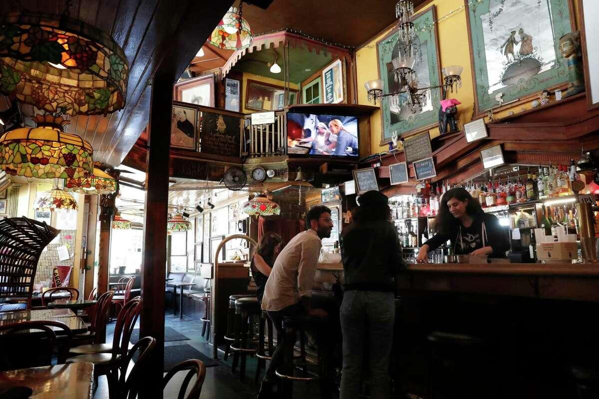 Vesuvio Bar in San Francisco, Ca., as seen on Thursday July 13, 2017.