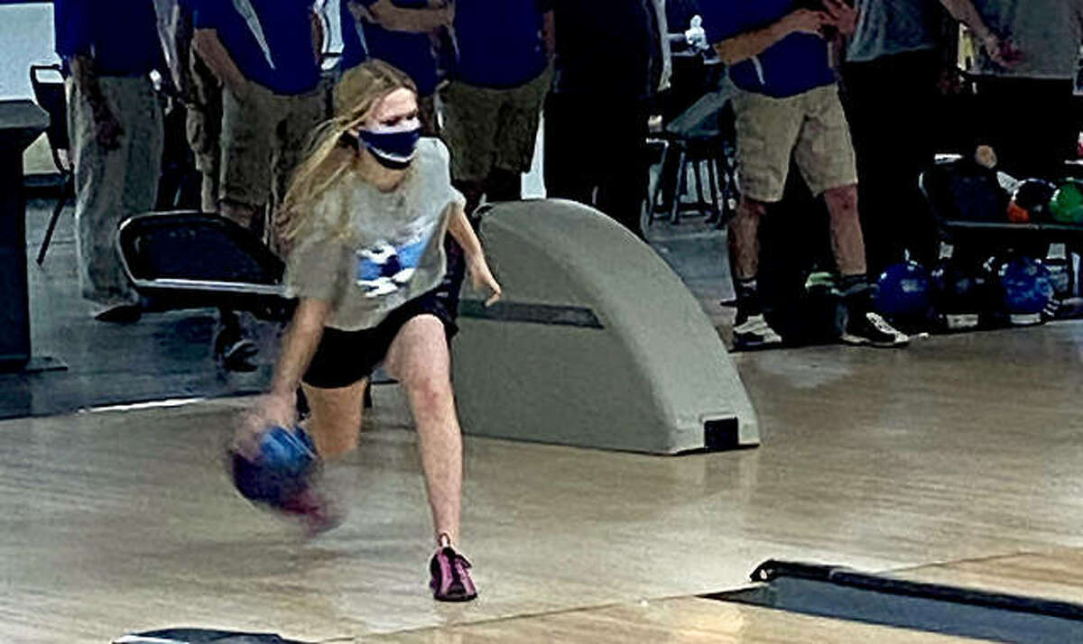 Sammie Malley of Jersey is The Telegraph's 2021 Girls Bowlers of the Year. A junior, she had a 176 average for the Panthers.