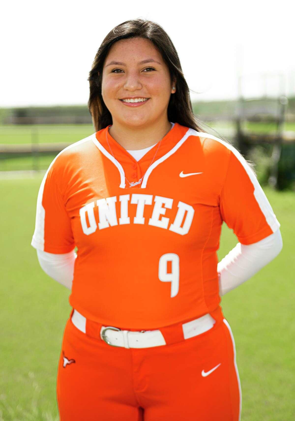 United's Karina Mejia