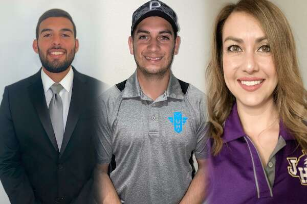 UISD announced the hiring of three coaches Tuesday as Rafael Benavides takes over the United cross country program, Thomas Lopez takes the reins of the Alexander boys' golf team, and Daniela Prado becomes LBJ's first female cross country head coach.
