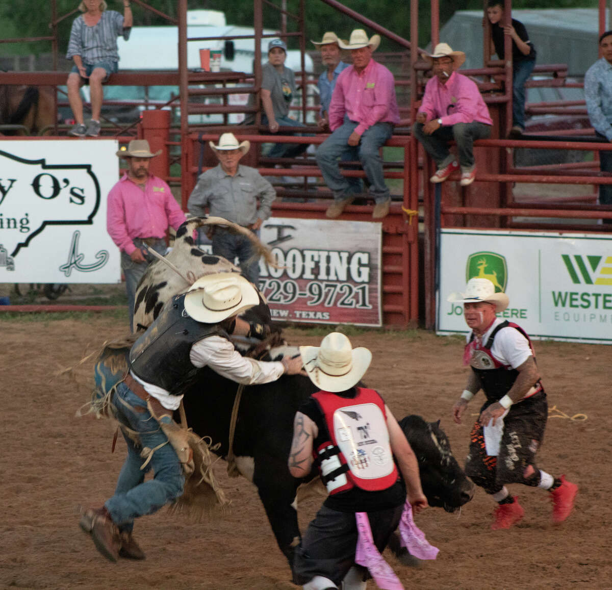 Plainview residents came out Saturday, July 10, for the Bar-None Rodeo Arena for the 77th Annual Bar-None Roughstock Rodeo.