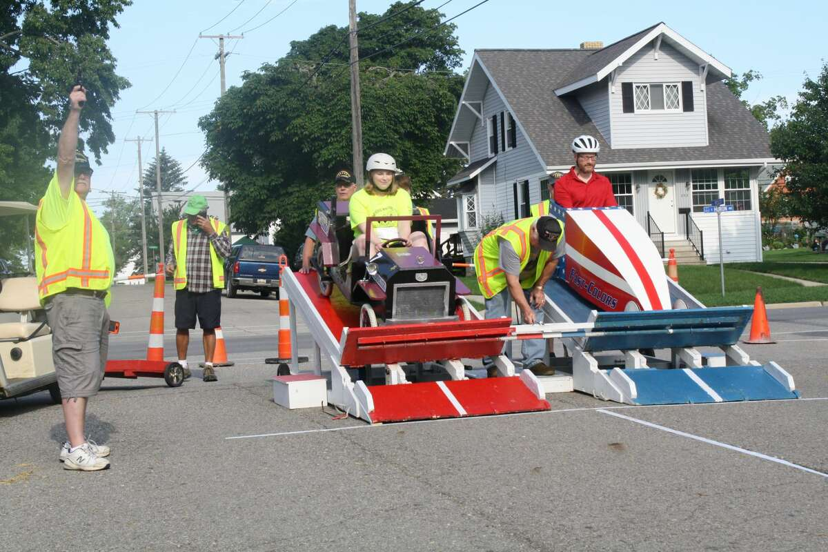 The Harbor Beach Cart Derby returned after a one-year hiatus.