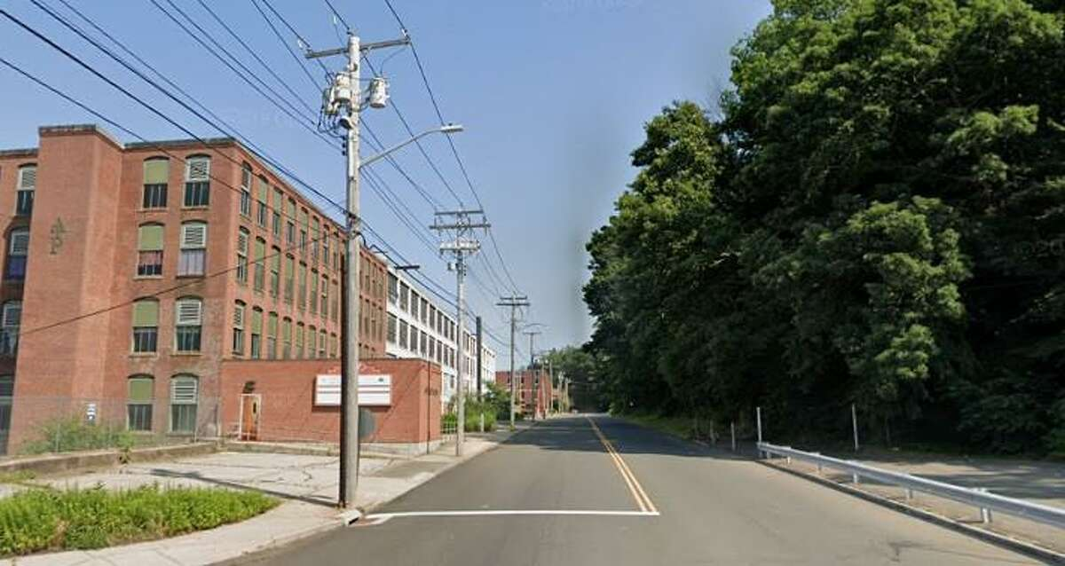 East Main Street in Ansonia, shown here looking north from the intersection with Kingston Drive, will become one-way under a new city plan. The work is expected to begin in August.