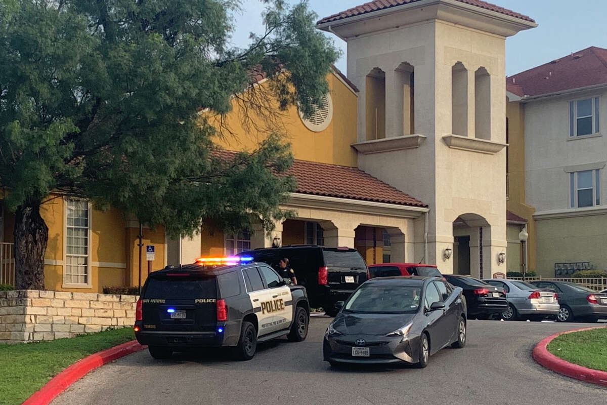 A man suspected of critically wounding another man during a shooting Wednesday morning has barricaded himself inside an apartment on the Southwest Side, San Antonio police said.