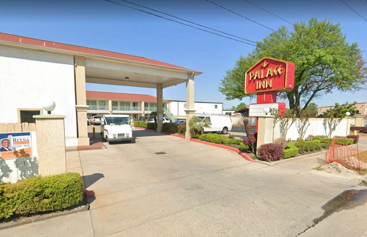 Peterson called police to Palace Inn at 3421 Antoine Drive, near U.S. 290. Authorities said Peterson then killed two people - an unidentified man and woman - moments later.