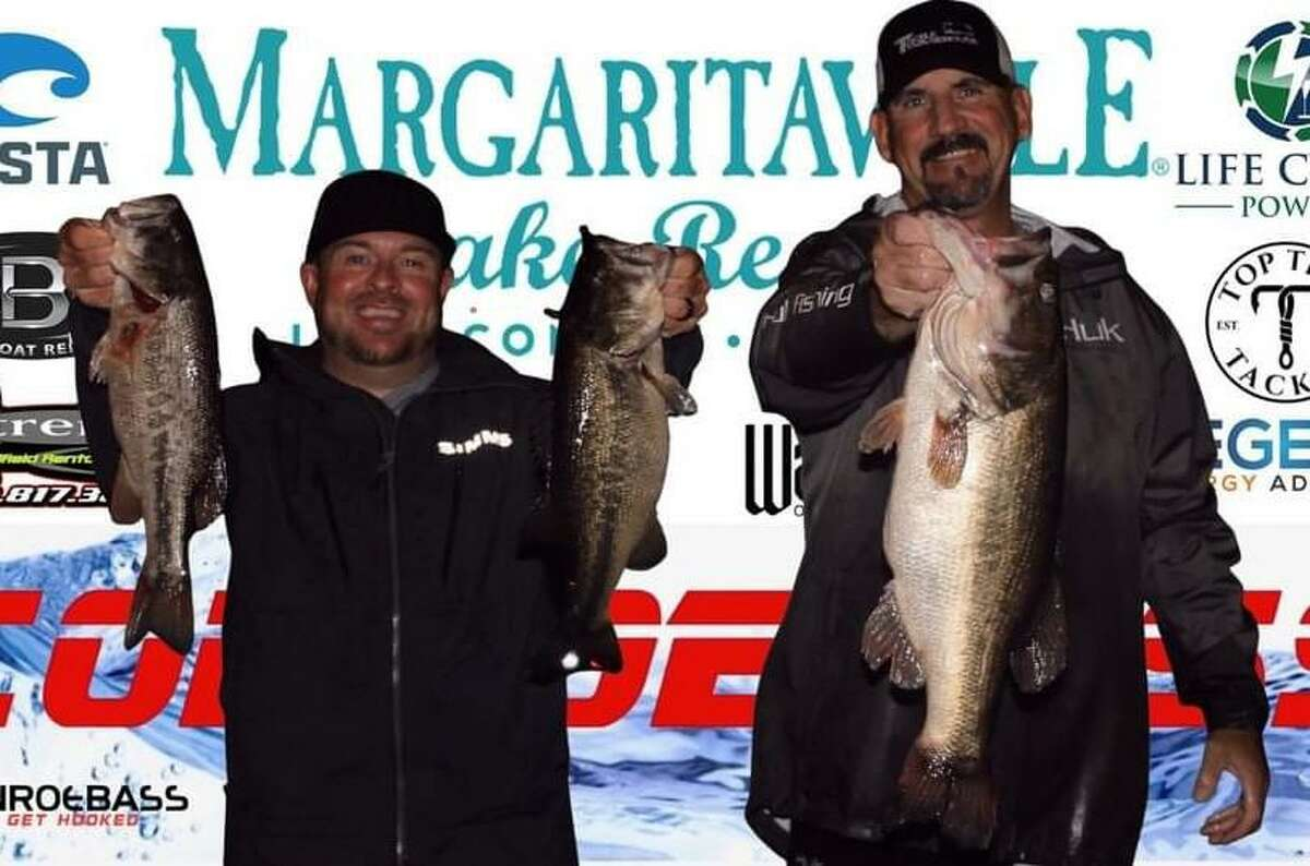 Julian Clepper and Tony Murray came in first place in the CONROEBASS Tuesday Tournament with a weight of 13.27 pounds.