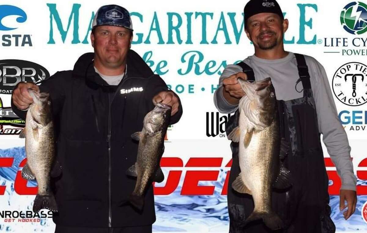 Langston Johnson and Nick Morton came in second place in the CONROEBASS Tuesday Tournament with a weight of 10.47 pounds.