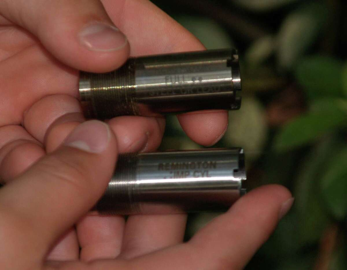 When cleaning and inspecting your shotgun remember to remove and clean the chokes and reinstall them with choke lube.