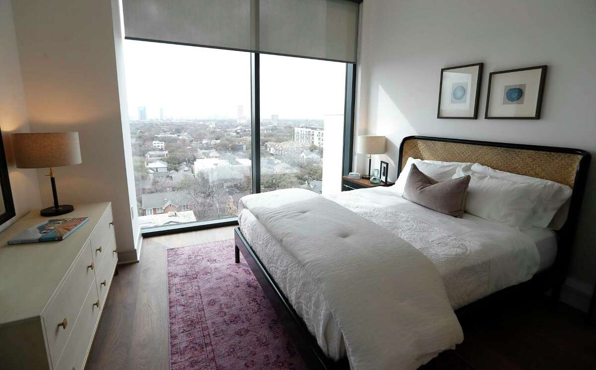 The Residences at La Colombe D'Or, a 34-story apartment tower with 265 units, is among the nearly 22,000 apartment units added to the Houston market in 2020, according to Apartment Data.com. Strong demand pushed occupancy in the Montrose submarket to 87.1 percent in June, up from 84 percent in June 2020.
