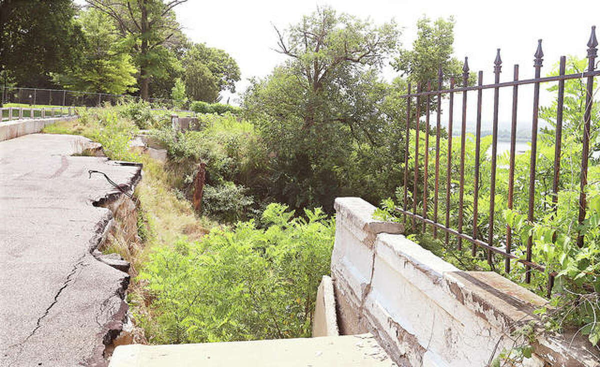 Riverview Drive, currently being reclaimed by nature, remains a city priority according to Mayor David Goins. The bluff and street collapsed due to erosion following heavy rains back in 2019. The city is now working with its fifth FEMA coordinator for the project and, on Wednesday, Goins said federal funding remains in place for the work.
