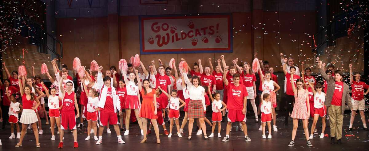 """The Whitney Players' presented """"High School Musical jr."""" with the summer youth cast of 2021."""