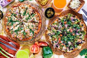 Curry Pizza House offers a menu of pizza pies with popular Indian flavors. The business has locations throughout the Bay Area, with it's flagship store in Fremont.