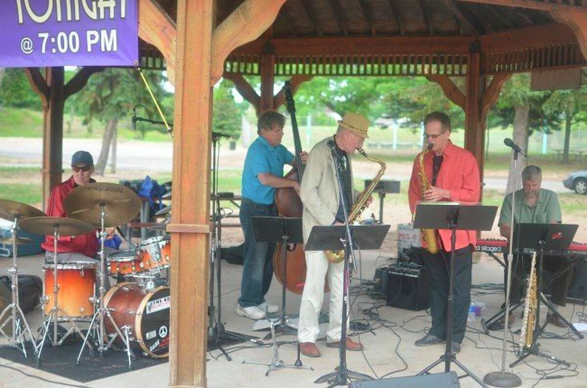The ShoreLine ShowCase is planned for July 27. The event is ajazz concert featuring Greg Nagy's Men of Leisure in Manistee. (File photo)
