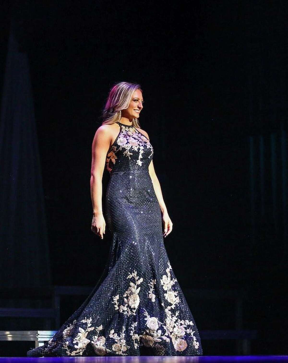 Sarah Dudinetz, of Sanford, competes in the Miss America Organization. (Photo provided)
