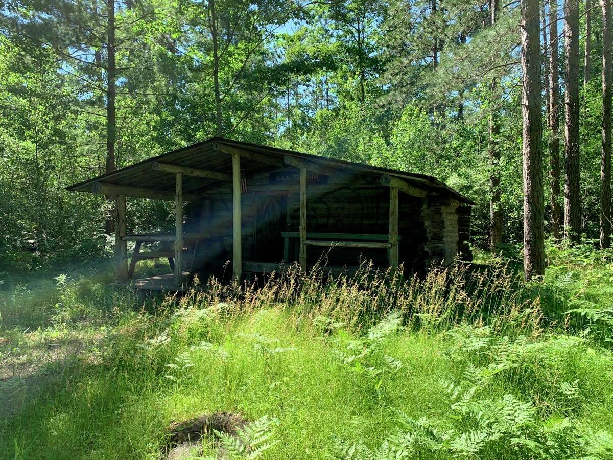Scouts have agreed not to use the cabin structure at the White Pine Valley Recreation Area, but are still being prohibited from overnight camping on the grounds until a rustic campground license can be obtained by the parks commission. (Pioneer photo/Cathie Crew)