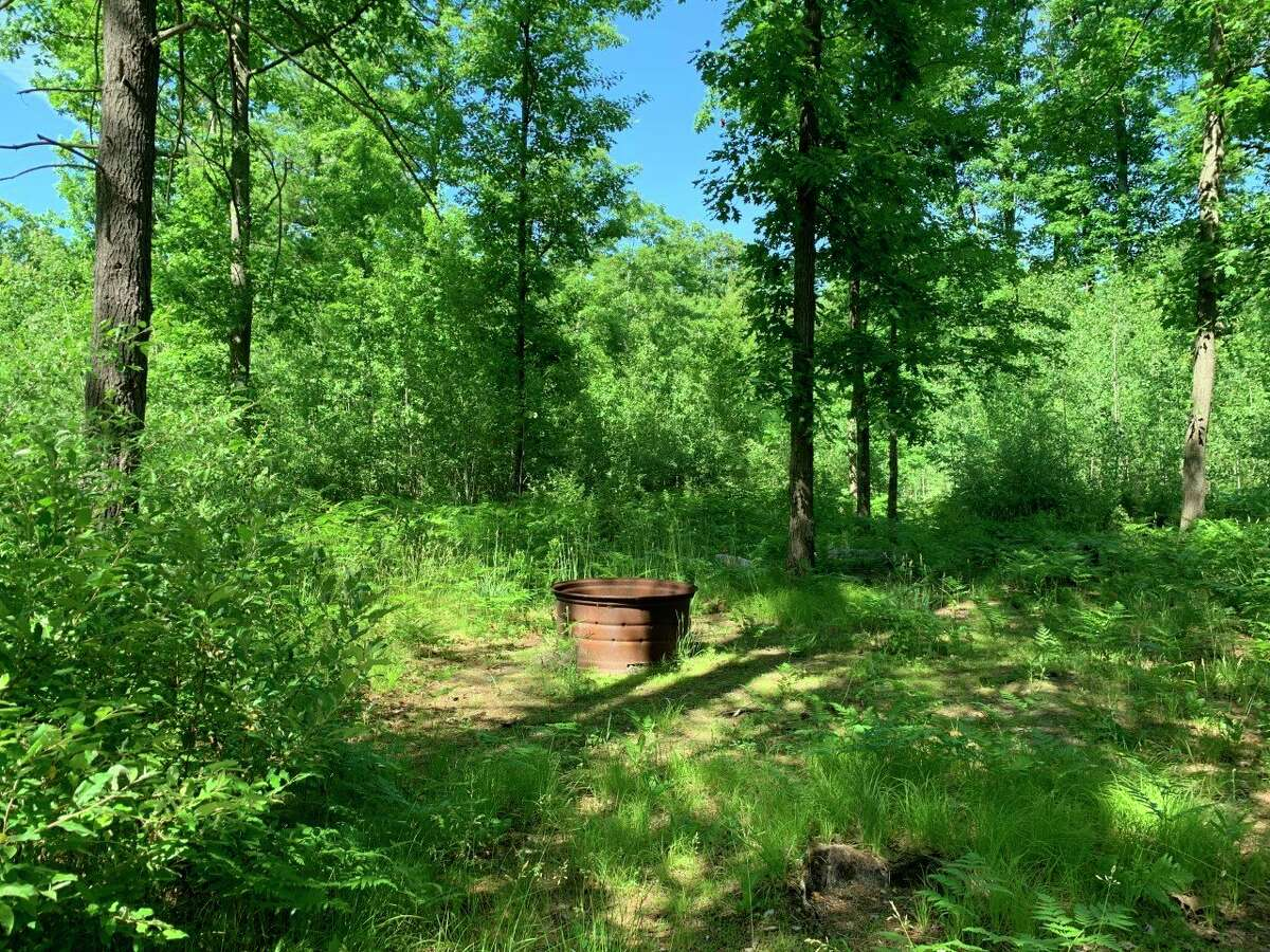 Scouts and other youth groups prefer the rustic camping atmosphere at the White Pine Valley Recreational Area to other more established parks in Mecosta County for their outdoor activities. The parks commission is seeking a rustic campground license in order to continue to allow camping on the site. (Pioneer photo/Cathie Crew)