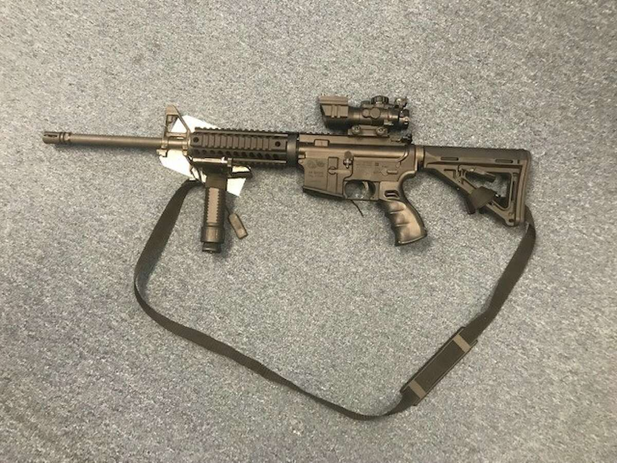 On Tuesday, troopers in Saratoga arrested a 47-year-old Malta man on a felony criminal weapon possession charge. He is accused of having an unregistered Colt Defense M4 Carbine 5.56 assault rifle, which is illegal to possess in New York.
