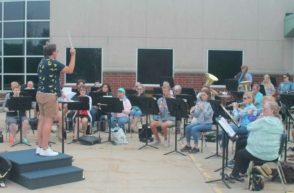 """The Manistee Community Bands """"Sweet Sounds of Summer"""" concerts will be held at Mineral Springs Park in Frankfort on Friday and at First Street Beach in Manistee on Aug. 10. (Kyle Kotecki/News Advocate)"""