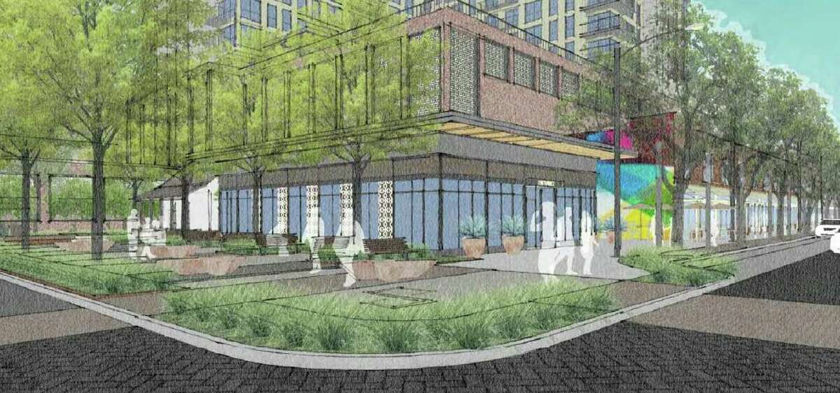 Weston Urban plans to restore historic buildings downtown and construct a new building between them.