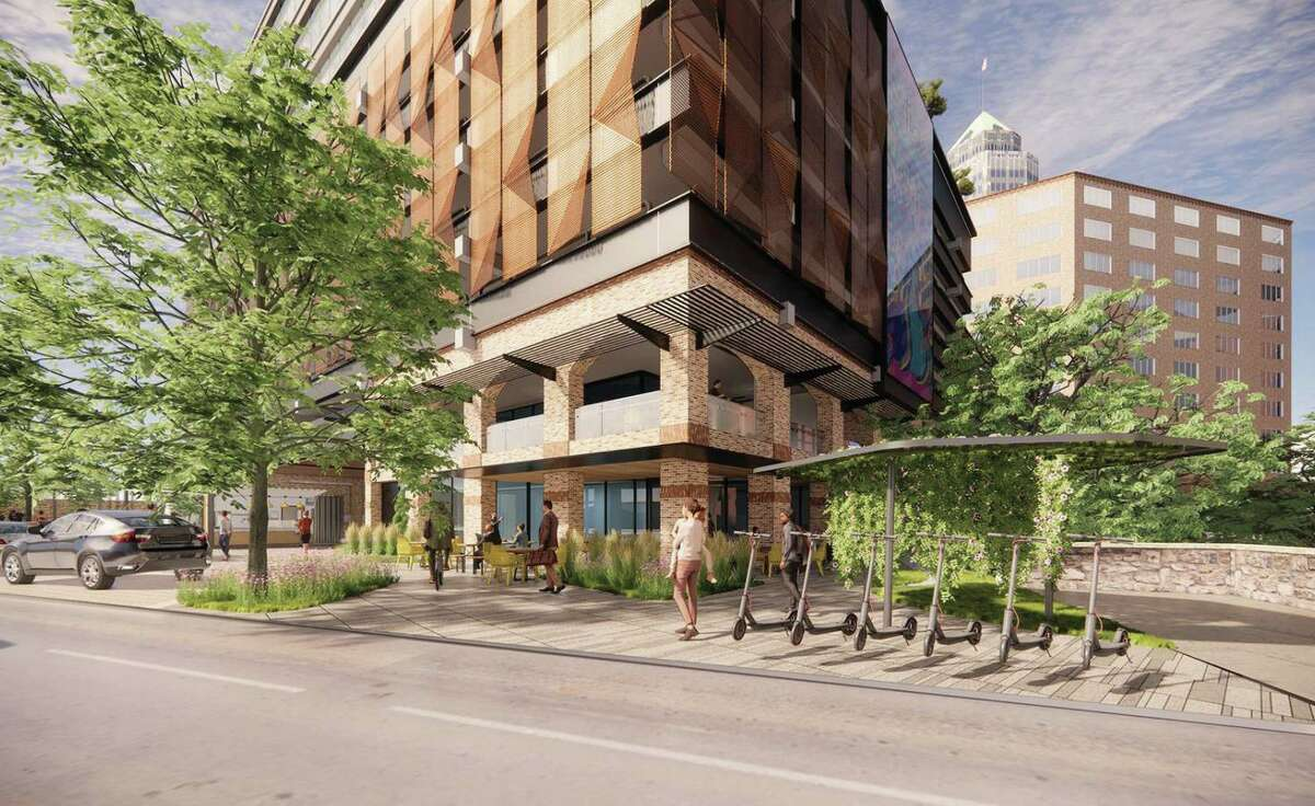 BH Properties plans to upgrade an office building and parking garage previously owned by CPS Energy.