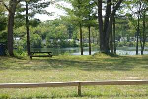 A presentation held July 16 listed a number of planned improvements for public areas surrounding Crystal Lake in Norman Township. Officials say they will need a mix of grant funding, volunteer workers and local fundraising efforts for the project to become a reality.