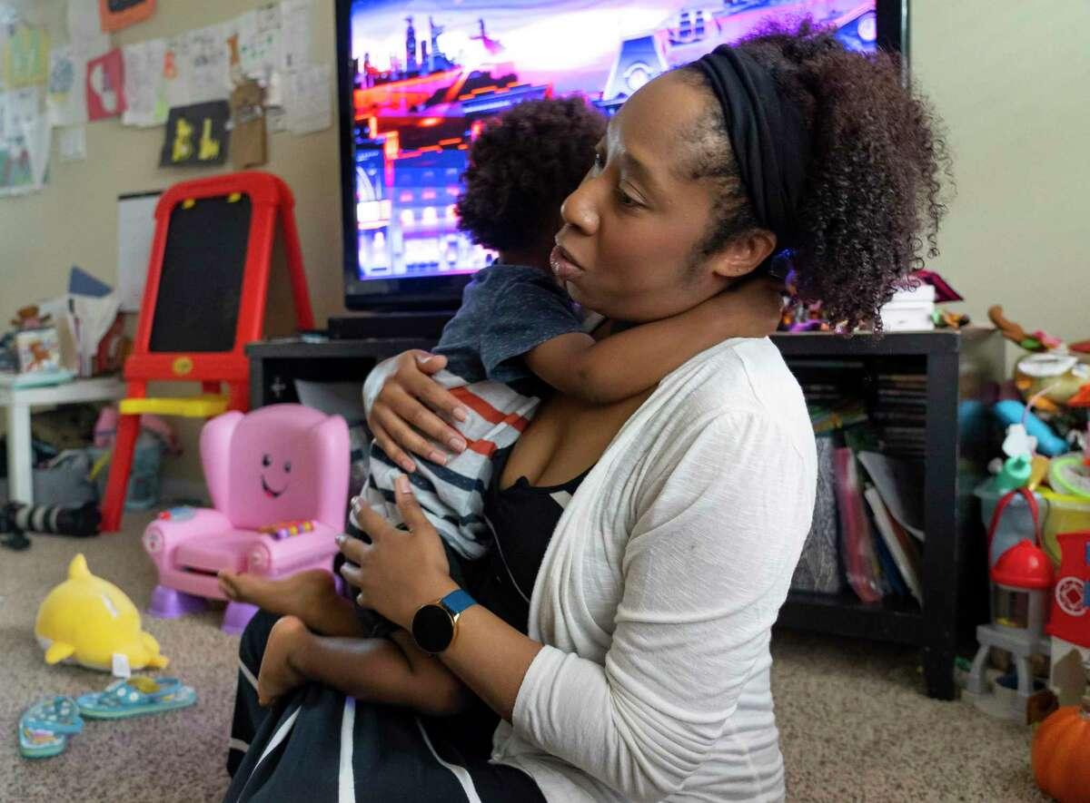 Teacher LaToya Washington wonders whether her Johnson & Johnson vaccine will be adequate protection this school year.