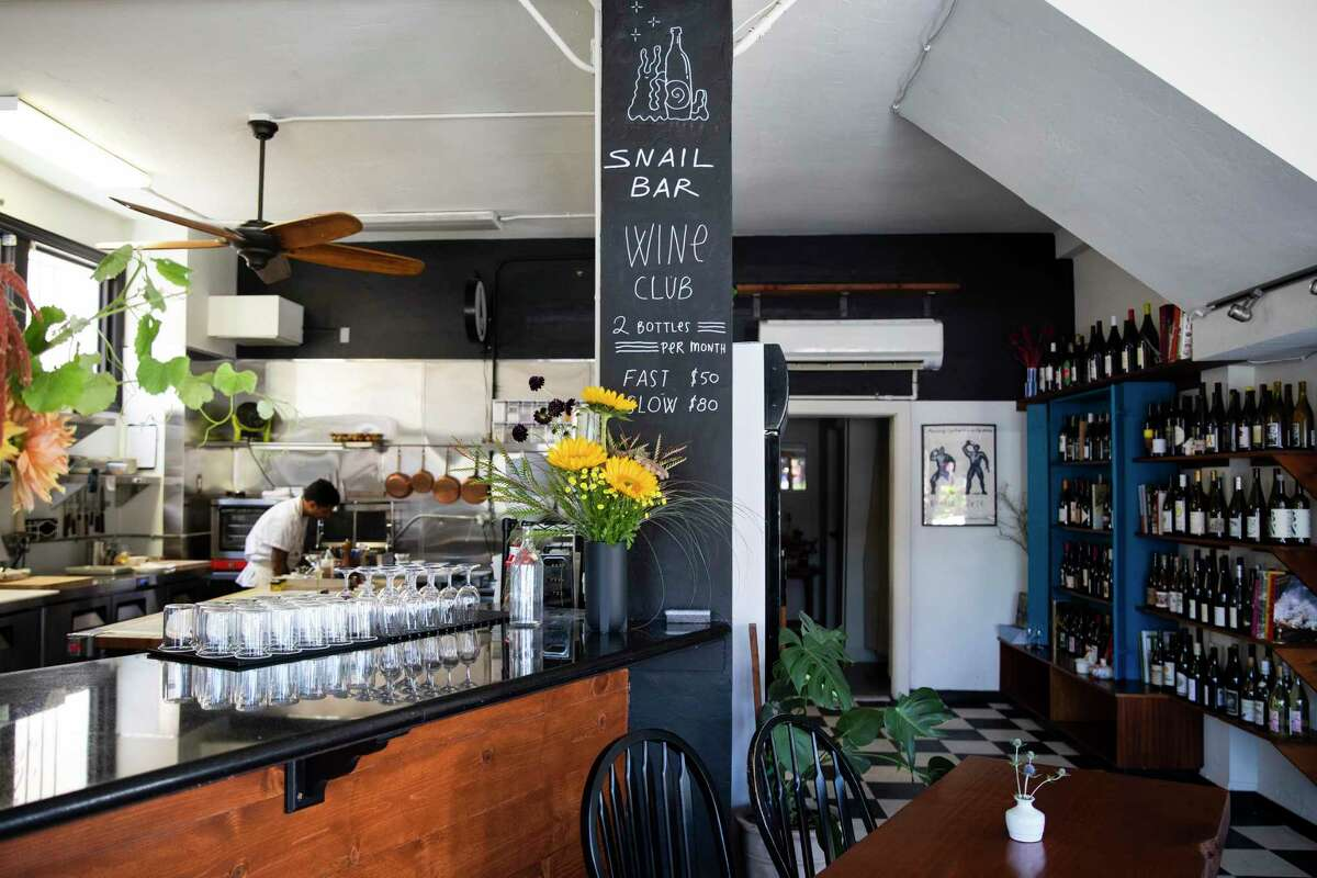 The Snail Bar in Oakland now requires proof of vaccination for indoor dining.