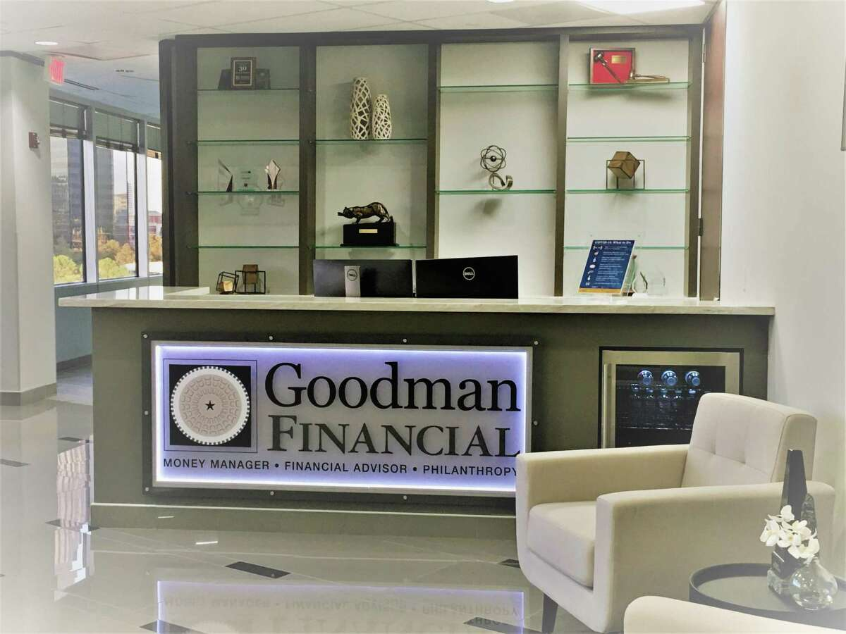 Goodman Financial Corp. signed a 10-year lease renewal and expansion at 5177 Richmond.