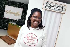 Tabitha Gatison, owner of Gatisonella Bakery in West Haven, which will be having a grand opening on July 24, 2021.