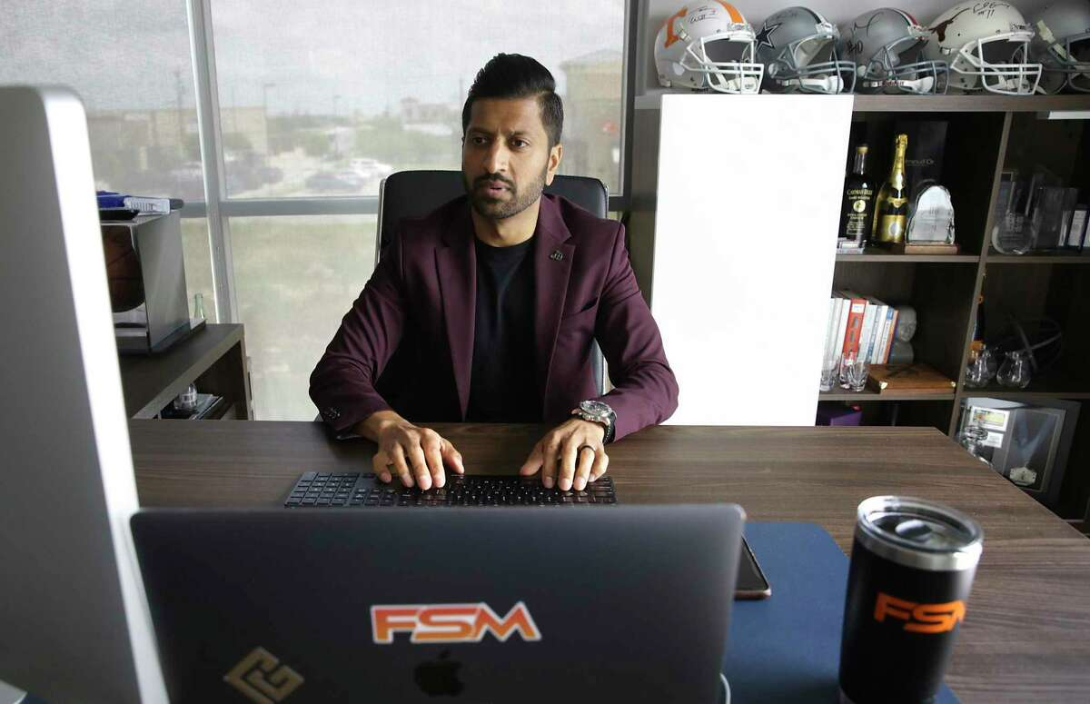 Rahul Patel Founder and CEO of Fundamental Sports Management, on Wednesday, May 13, 2020.