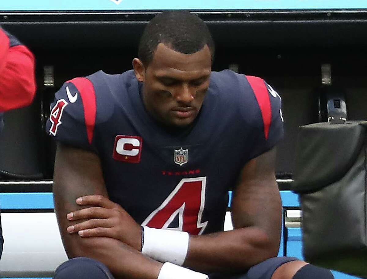 Texans quarterback Deshaun Watson made it clear after last season that he wants out of Houston, but his present legal challenges are an obstacle.
