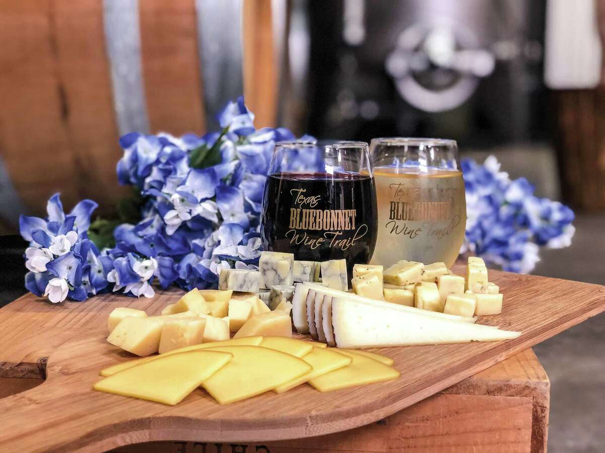 The Texas Bluebonnet Wine Trail is one of 18 wine trails across the state.
