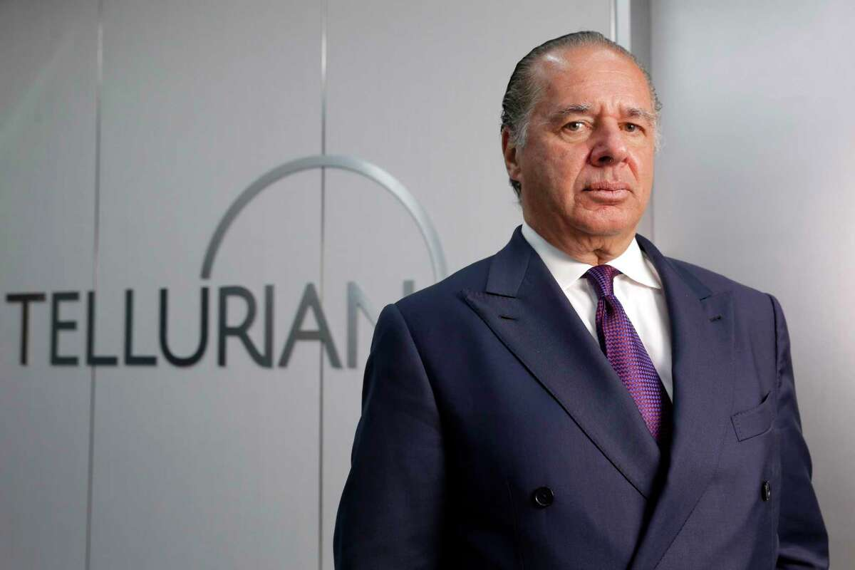 Charif Souki, Chairman of Tellurian LNG at the corporate offices Friday, Jun. 25, 2021 in Houston, TX.