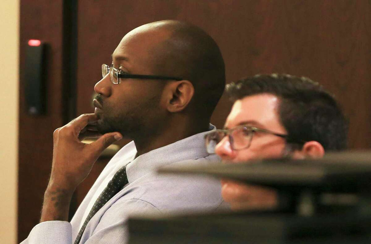 Witnesses testify on the eighth day of Otis McKane's trial on Wednesday, July 21, 2021. McKaneis accused of killing SAPD Detective Benjamin Marconi on Nov. 20, 2016.