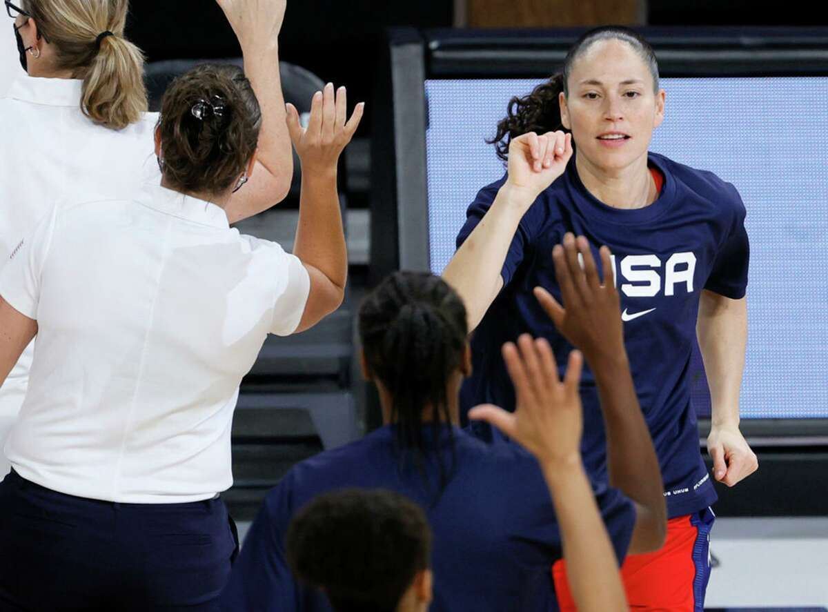 Sue Bird was one of two chosen to carry the U.S. flag at the opening ceremony.