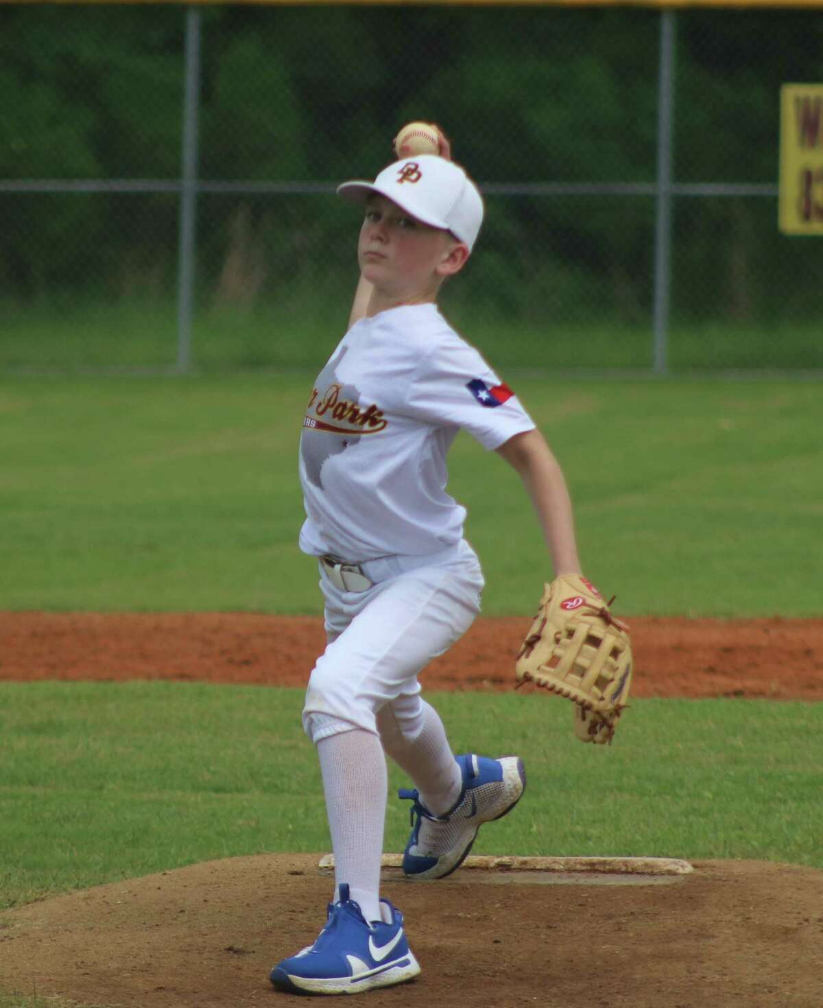 Deer Park's Brayden Keller, en route to nailing down the team's second South Zone victory Wednesday, was effective in both games on the hill.