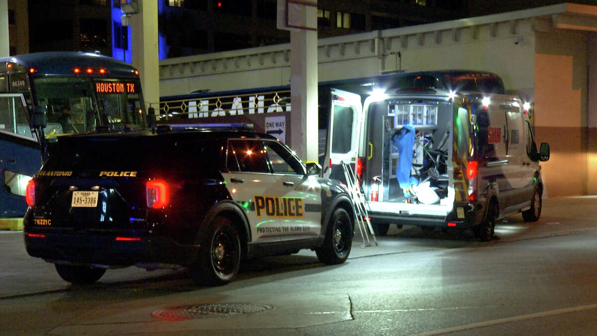 A patient at Baptist Medical Center is accused of taking an unattended ambulance truck parked outside of the downtown hospital early Thursday morning.