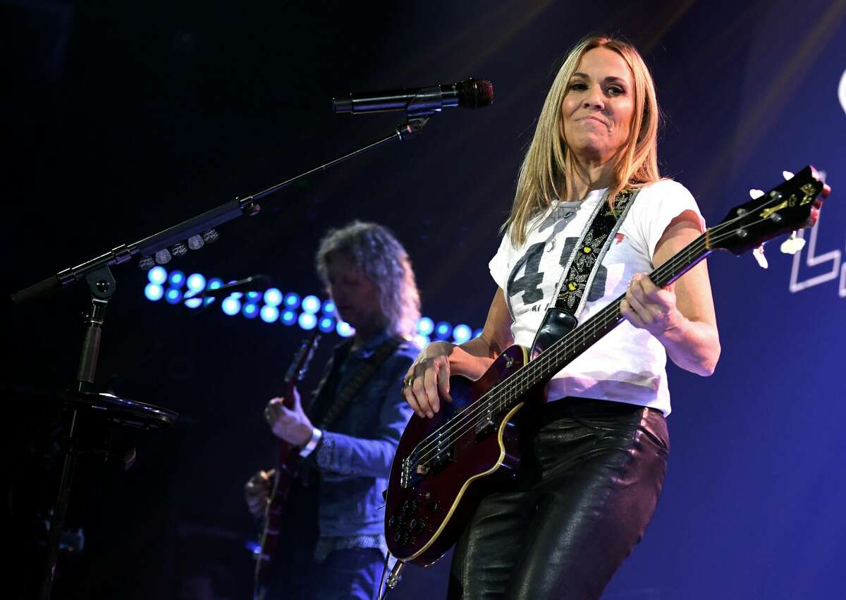 BURBANK, CALIFORNIA - DECEMBER 02: Sheryl Crow performs onstage during iHeartRadio LIVE With Sheryl Crow at iHeartRadio Theater on December 02, 2019 in Burbank, California. (Photo by Kevin Winter/Getty Images for iHeartMedia)