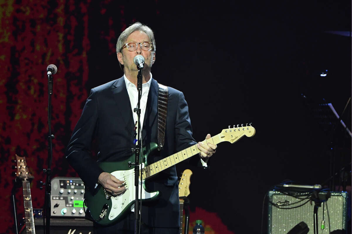 Tickets to Eric Clapton's September 17 performance in Houston