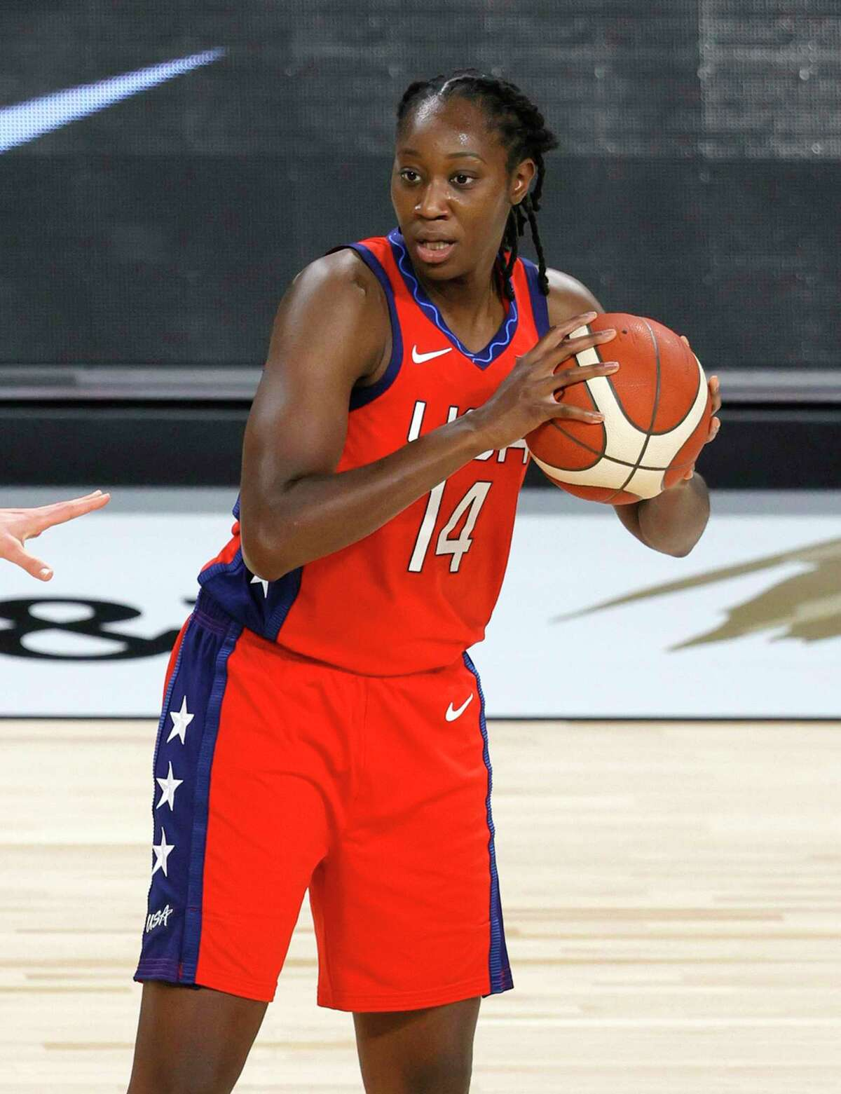 Tina Charles: An eight-time WNBA All-Star and two-time NCAA Champion, Charles owns three World Cup Gold medals while playing for Team USA.