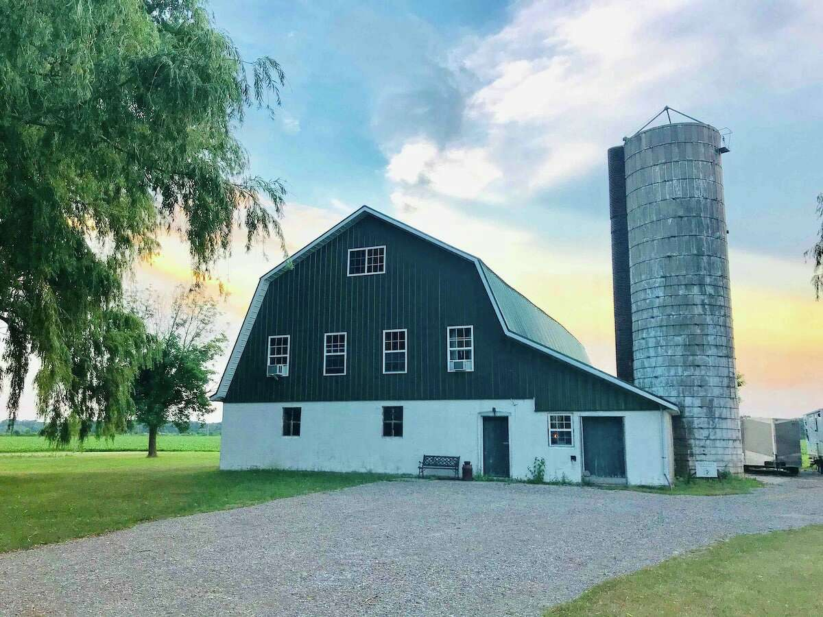 Grandpa George's House-in-a-Barn.